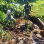 The Water Project: Mumuli Community A -  Construction