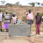 The Water Project: Kaani Community C -  Finished Well