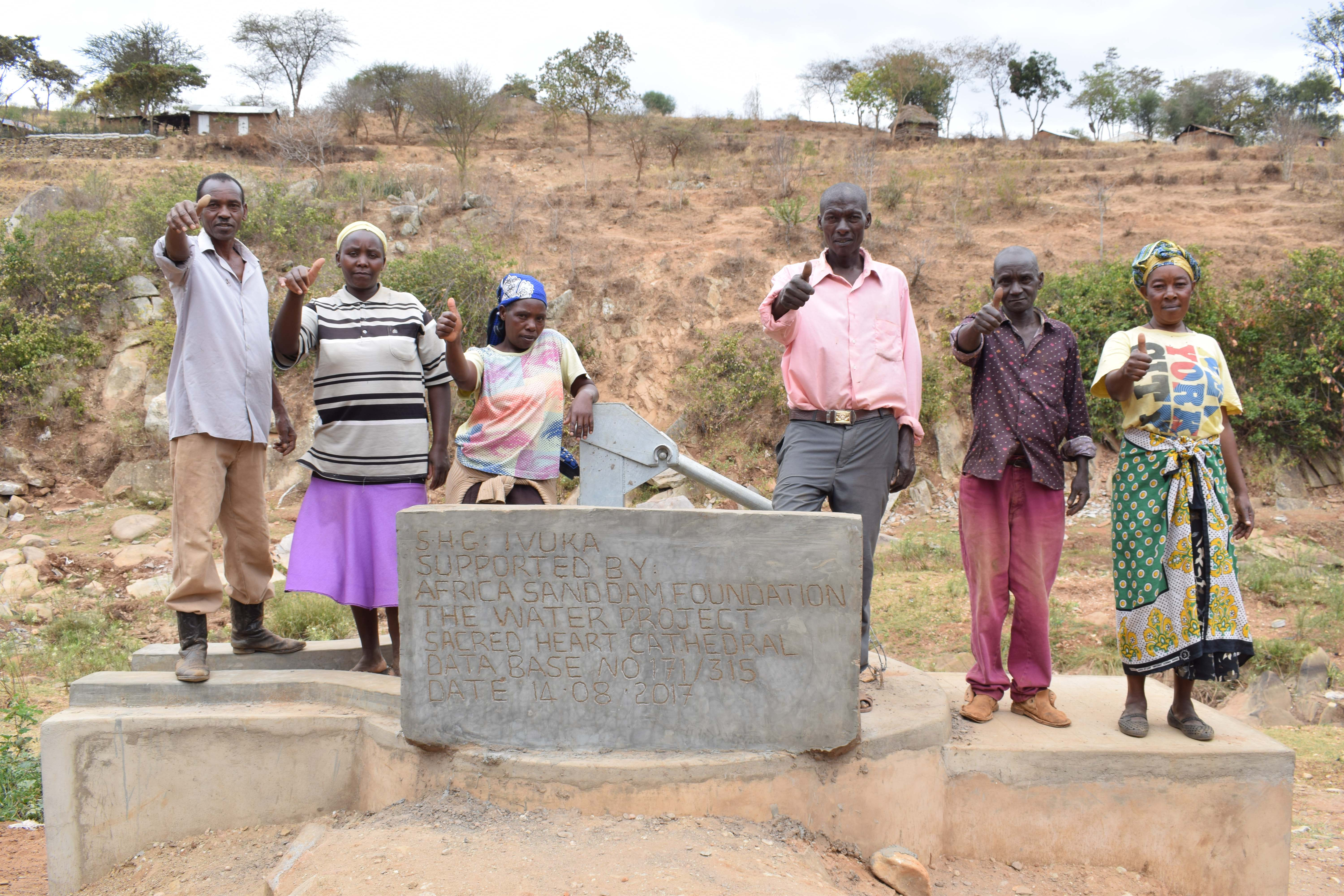 The Water Project : 9-kenya4787-finished-well
