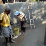 The Water Project: Eregi Mixed Primary School -  Tank Construction
