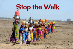 Water Project Fundraiser - Stop the Walk