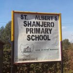 The Water Project: Shanjero Primary School -  School Sign