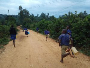 The Water Project:  Rushing To Fetch Water
