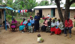 The Water Project:  Community Member Introduces Common Practices In Her Community