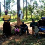 The Water Project: Mukhuyu Community, Shikhanga Spring -  Training
