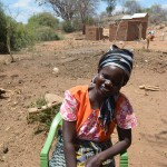 The Water Project: Ikulya Community A -  Martha Musyoki