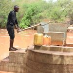 The Water Project : 1-kenya4779-water-flowing