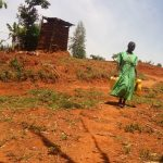 The Water Project: Eshitowa Community -  Latrine Up The Hill From Water Source