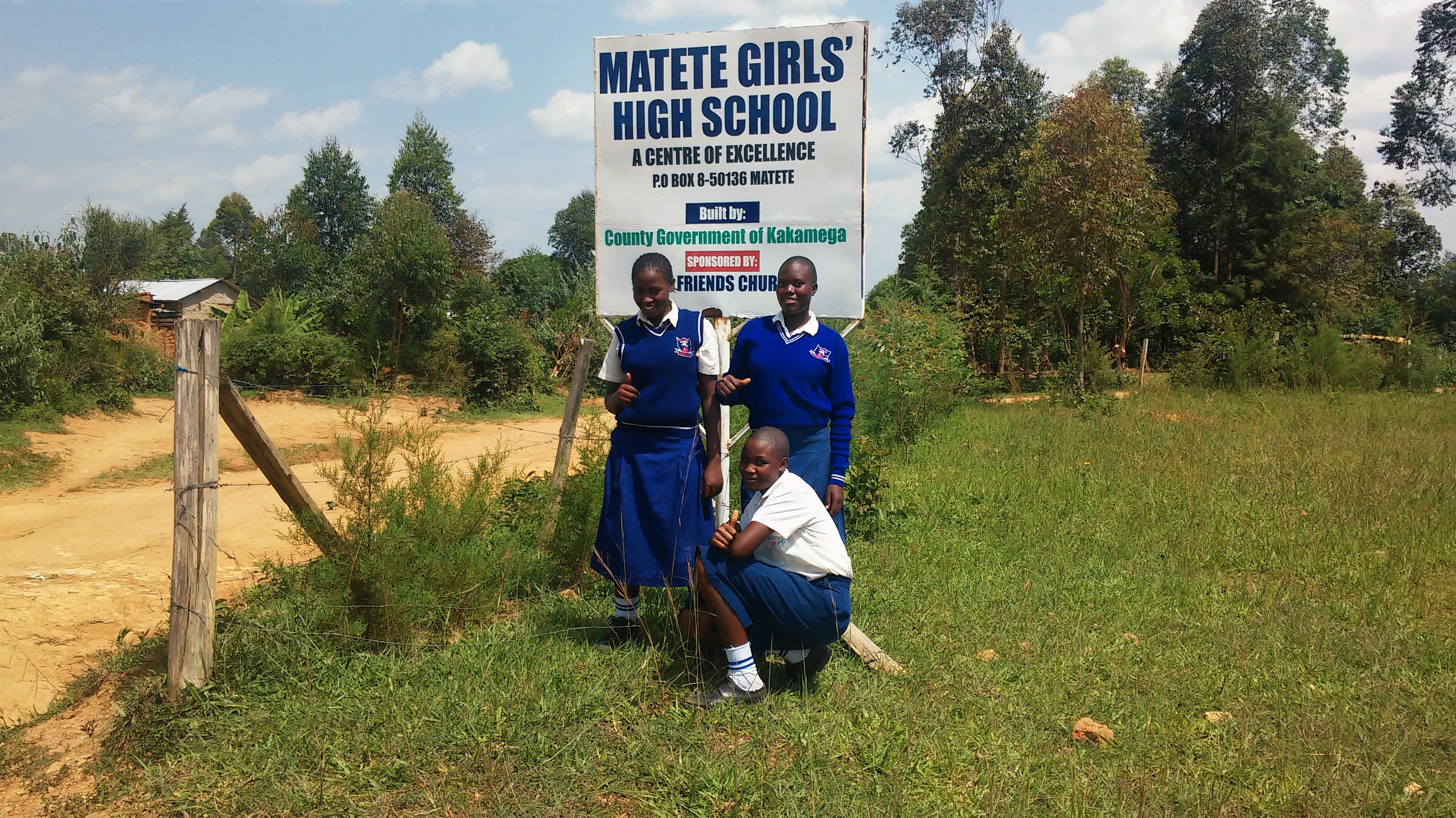 The Water Project : 1-kenya4835-school-sign