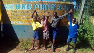 The Water Project:  Students Pose At School Gate