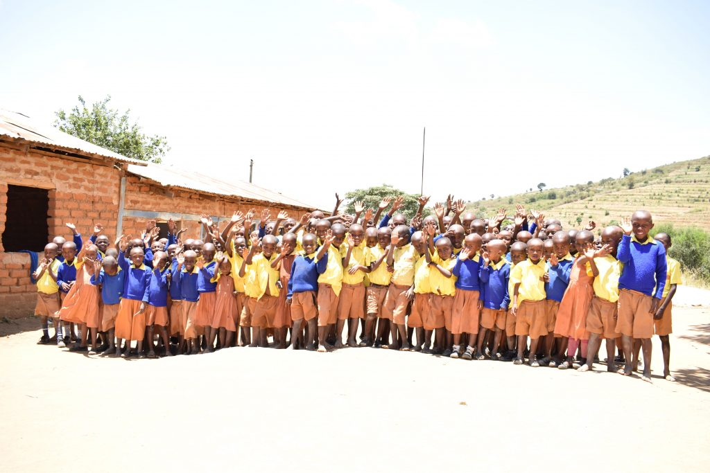 The Water Project : 1-kenya4873-students