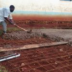 The Water Project: Esibuye Primary School -  Tank Foundation