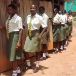 The Water Project: Malinya Girls Secondary School -  Latrines