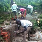 The Water Project: Shikoti Community B -  Construction