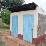 The Water Project: Kasioni Community A -  Latrine