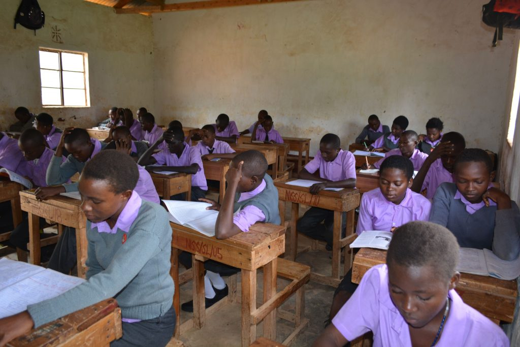 The Water Project : 10-kenya4802-students-in-class