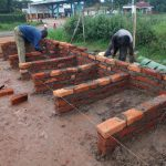 The Water Project: Evojo Secondary School -  Latrine Construction