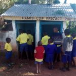 The Water Project: Gidagadi Primary School -  Boy Latrines