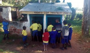 The Water Project:  Boy Latrines