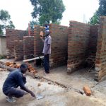 The Water Project: Musunji Primary School -  Latrine Construction