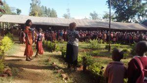 The Water Project : 11-kenya4686-students-at-morning-assembly