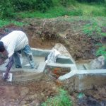 The Water Project: Lutali Community -  Construction