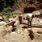 The Water Project: Handidi Community B -  Spring Protection Construction