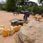 The Water Project : 11-kenya4767-open-well-in-riverbed