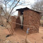 The Water Project: Karuli Community C -  Kimanzi Latrine