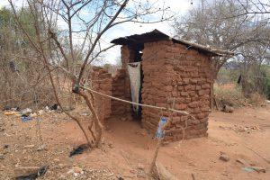 The Water Project:  Kimanzi Latrine