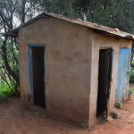 The Water Project: Kyanzasu Primary School -  Girls Latrines