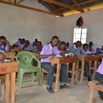 The Water Project: Matheani Secondary School -  Students In Class