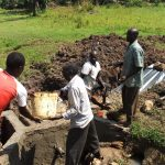 The Water Project: Timbito Community, Wakamu Spring -  Construction