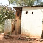 The Water Project: Kyanzasu Secondary School -  Boys Latrines
