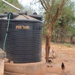 The Water Project: Ikaasu Secondary School -  Plastic Tank