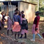 The Water Project: Irenji Primary School -  Girl Latrines