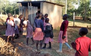 The Water Project:  Girl Latrines