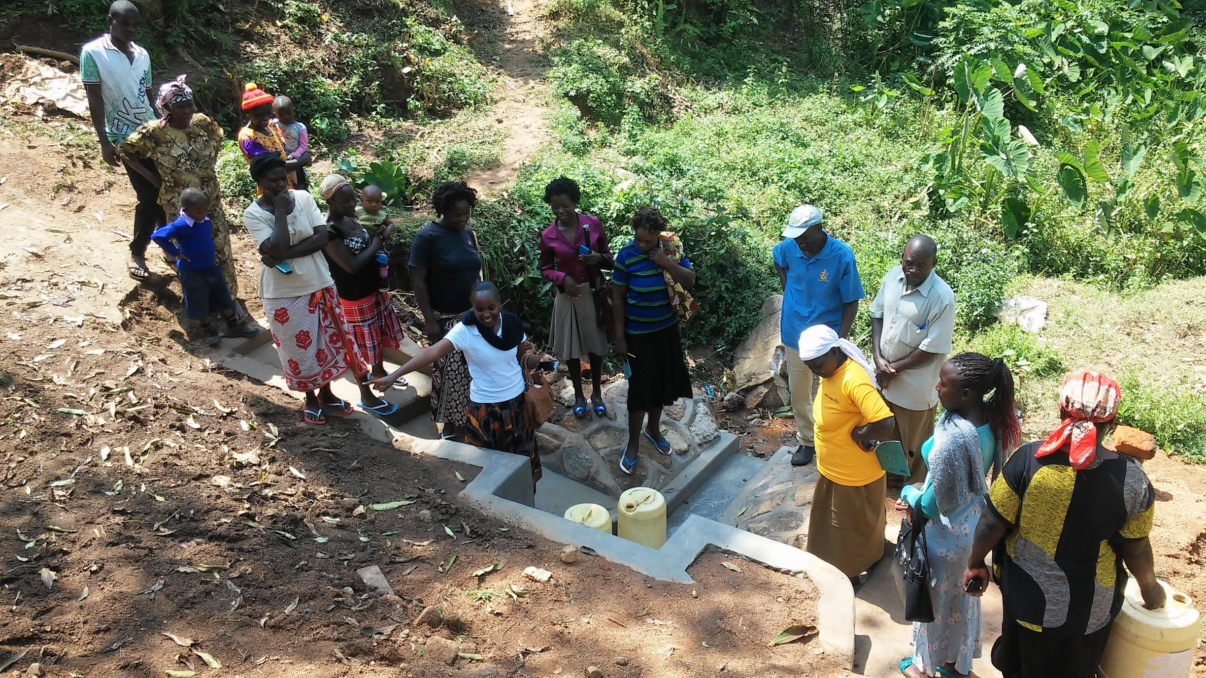 The Water Project : 12-kenya4734-clean-water