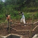 The Water Project: Lutali Community, Lukoye Spring -  Community Fencing The Spring
