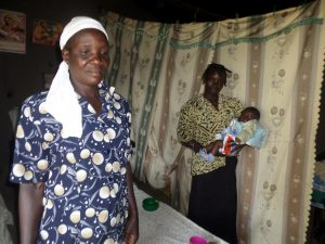 The Water Project:  Mrs Walusia In Her Home