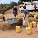 The Water Project : 12-kenya4767-open-well-in-riverbed