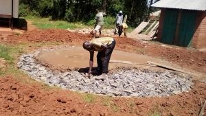 The Water Project : 12-kenya4834-tank-construction