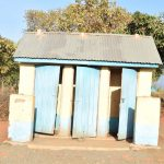 The Water Project: Kithaasyu Secondary School -  Boys Latrines