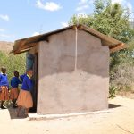 The Water Project: Kivani Primary School -  Girls Latrines