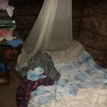 The Water Project: Emusanda Community A -  Mosquito Net