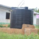 The Water Project: Waita Primary School -  Plastic Tank Connected To The Piped System