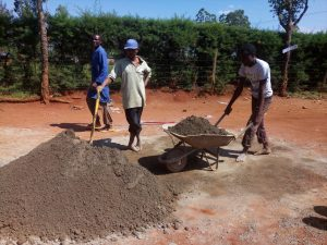 The Water Project : 13-kenya4834-tank-construction
