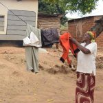 The Water Project: Mitini Community A -  Clothesline