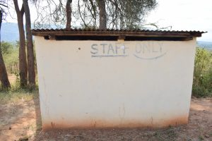 The Water Project : 13-kenya4869-staff-latrines