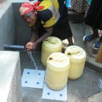 The Water Project: Shikoti Community, Alunyoli Spring -  Clean Water